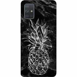 Samsung Galaxy A71 Thin Case Marmor Ananas