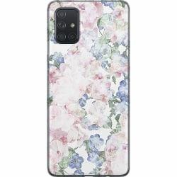 Samsung Galaxy A71 Thin Case Blommor