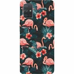 Samsung Galaxy A71 Thin Case Flamingo Fever