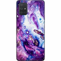 Samsung Galaxy A71 Thin Case Galaxy Marble