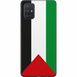 Samsung Galaxy A71 Thin Case Palestina Flagga