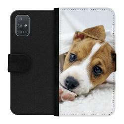 Samsung Galaxy A71 Wallet Case Cute Puppy