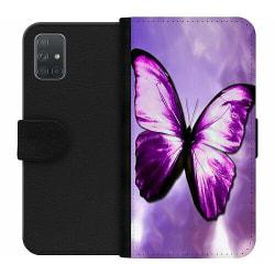 Samsung Galaxy A71 Wallet Case Fjäril