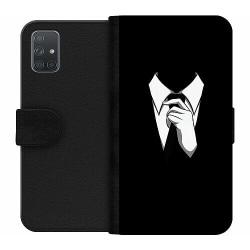 Samsung Galaxy A71 Wallet Case Gentleman