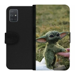 Samsung Galaxy A71 Wallet Case Yoda