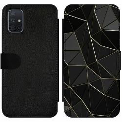 Samsung Galaxy A71 Wallet Slim Case Midnight
