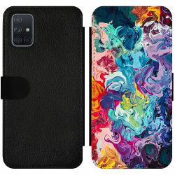 Samsung Galaxy A71 Wallet Slim Case Wild Colours