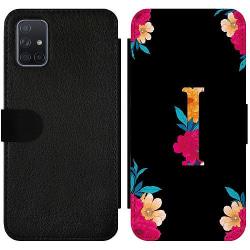 Samsung Galaxy A71 Wallet Slimcase Bokstaven - I