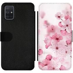 Samsung Galaxy A71 Wallet Slimcase Cherry Blossom