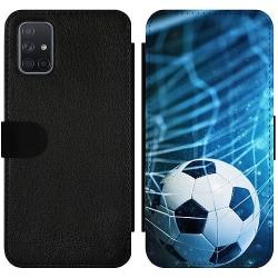 Samsung Galaxy A71 Wallet Slim Case Fotboll