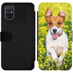 Samsung Galaxy A71 Wallet Slimcase Happy Dog