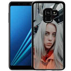 Samsung Galaxy A8 (2018) Soft Case (Svart) Billie Eilish