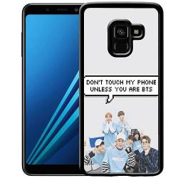 Samsung Galaxy A8 (2018) Soft Case (Svart) BTS