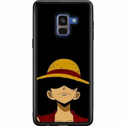Samsung Galaxy A8 (2018) Soft Case (Svart) Anime