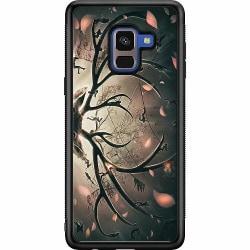 Samsung Galaxy A8 (2018) Soft Case (Svart) Deer
