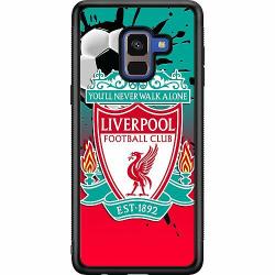 Samsung Galaxy A8 (2018) Soft Case (Svart) Liverpool