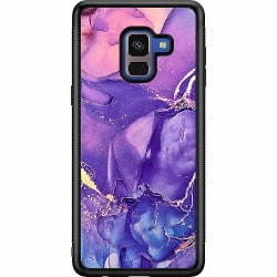Samsung Galaxy A8 (2018) Soft Case (Svart) Profound Sincerity