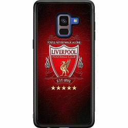 Samsung Galaxy A8 (2018) Soft Case (Svart) YNWA Liverpool