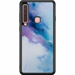 Samsung Galaxy A9 (2018) Soft Case (Svart) Pattern