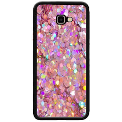 Samsung Galaxy J4 Plus (2018) Soft Case (Svart) Glitter