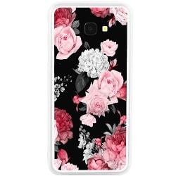 Samsung Galaxy J4 Plus (2018) Soft Case (Vit) Floral Bloom