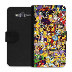 Samsung Galaxy J5 Wallet Case Simpsons