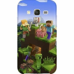Samsung Galaxy J5 Thin Case MineCraft