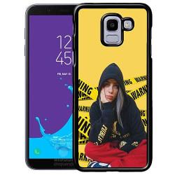 Samsung Galaxy J6 (2018) Soft Case (Svart) Billie Eilish