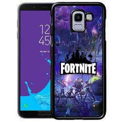 Samsung Galaxy J6 (2018) Soft Case (Svart) Fortnite Gaming