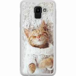 Samsung Galaxy J6 (2018) Soft Case (Frostad) Kitty Sweater