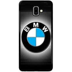 Samsung Galaxy J6 Plus (2018) Soft Case (Svart) BMW