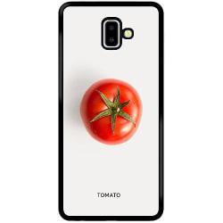 Samsung Galaxy J6 Plus (2018) Soft Case (Svart) Tomato