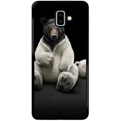 Samsung Galaxy J6 Plus (2018) Soft Case (Svart) WTF