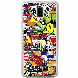 Samsung Galaxy J6 Plus (2018) Soft Case (Frostad) Stickers