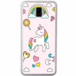 Samsung Galaxy J6 Plus (2018) Soft Case (Frostad) UNICORN