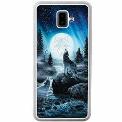 Samsung Galaxy J6 Plus (2018) Soft Case (Frostad) Wolf / Varg