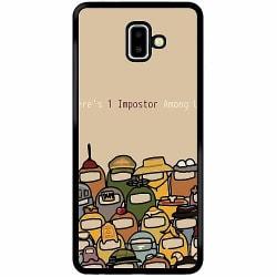 Samsung Galaxy J6 Plus (2018) Soft Case (Svart) Among Us