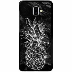 Samsung Galaxy J6 Plus (2018) Soft Case (Svart) Ananas