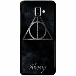 Samsung Galaxy J6 Plus (2018) Soft Case (Svart) Harry Potter