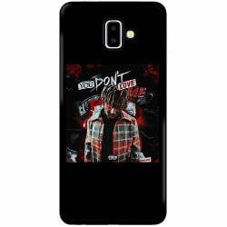 Samsung Galaxy J6 Plus (2018) Soft Case (Svart) Juice WRLD