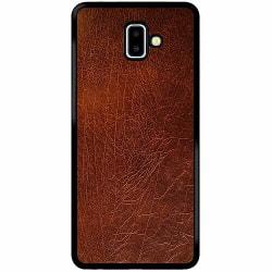 Samsung Galaxy J6 Plus (2018) Soft Case (Svart) Leather