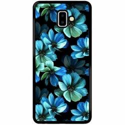 Samsung Galaxy J6 Plus (2018) Soft Case (Svart) Midnight Garden
