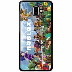 Samsung Galaxy J6 Plus (2018) Soft Case (Svart) Roblox