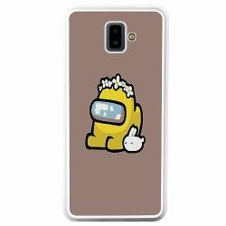 Samsung Galaxy J6 Plus (2018) Soft Case (Vit) Among Us