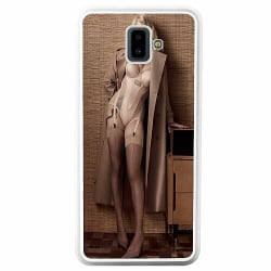 Samsung Galaxy J6 Plus (2018) Soft Case (Vit) Billie Eilish 2021