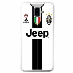 Samsung Galaxy J6 Plus (2018) Soft Case (Vit) Juventus Football