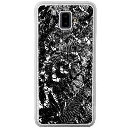 Samsung Galaxy J6 Plus (2018) Soft Case (Frostad) Black Corset