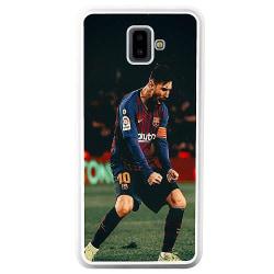 Samsung Galaxy J6 Plus (2018) Soft Case (Vit) Messi