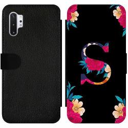 Samsung Galaxy Note 10 Plus Wallet Slim Case Bokstaven - S
