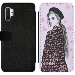 Samsung Galaxy Note 10 Plus Wallet Slim Case Feminism